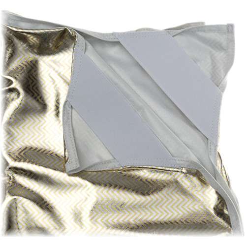 "Chimera Zebra/White Fabric for 42 x 82"" Panel Frame"