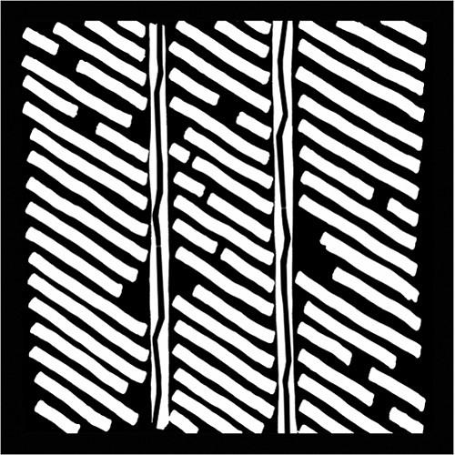 """Chimera Rain Urban Series Window Pattern 22 x 22"""""""