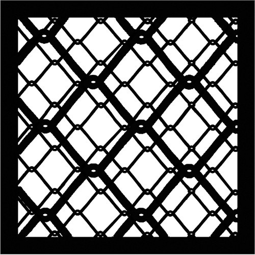 Chimera Chain 2 Urban Series Window Pattern 22 x 22""