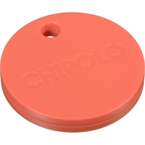 Chipolo Plus Bluetooth Tracker (Coral Red)