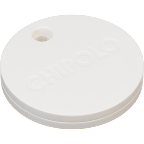 Chipolo Plus Bluetooth Tracker (Pearl White)