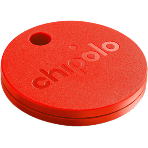 Chipolo Plus 2.0 Bluetooth Item Tracker (Red)