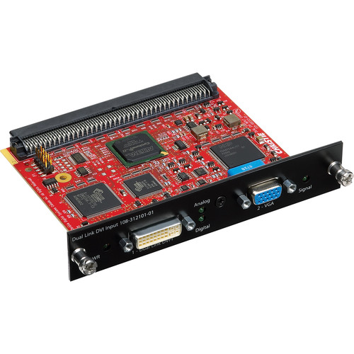 Christie DVI/15-Pin D-Sub Input Module for Select Projectors