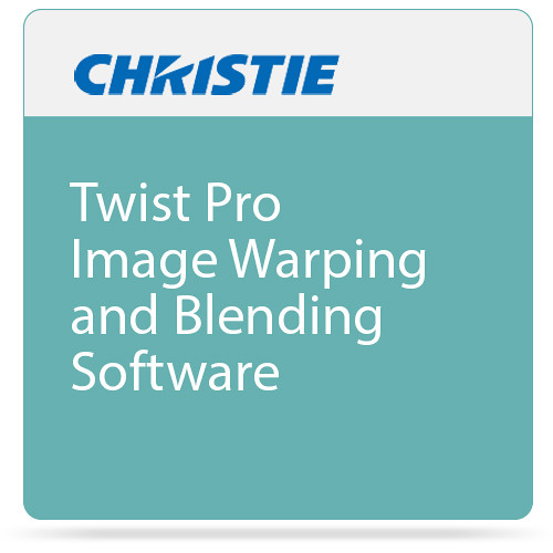 Christie Twist Pro Image Warping and Blending Software
