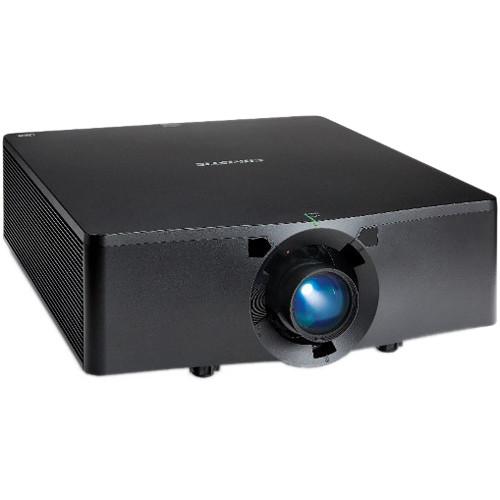 Christie HS Series D13HD 12,000-Lumen 1DLP Projector (No Lens, Black)