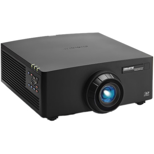 Christie GS Series DWU599 WUXGA 5400-Lumen 1DLP Projector (No Lens, Black)