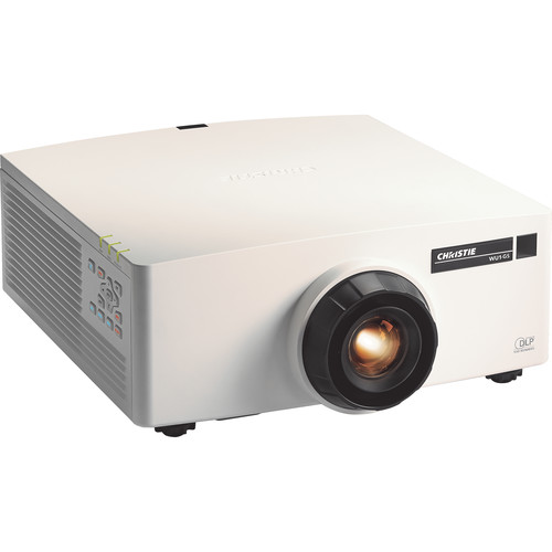 Christie 1-DLP HD (WUXGA 1920X1200) 5400 ISO Lumens Laser Projector (Lens, White)