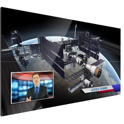 "Christie FHD553-XE 110"" 2x2 LCD Video Wall Bundle"