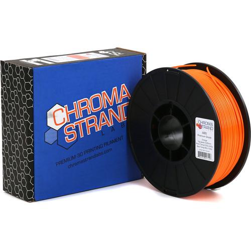 Chroma Strand Labs 3mm ABS Filament (1kg, Orange)