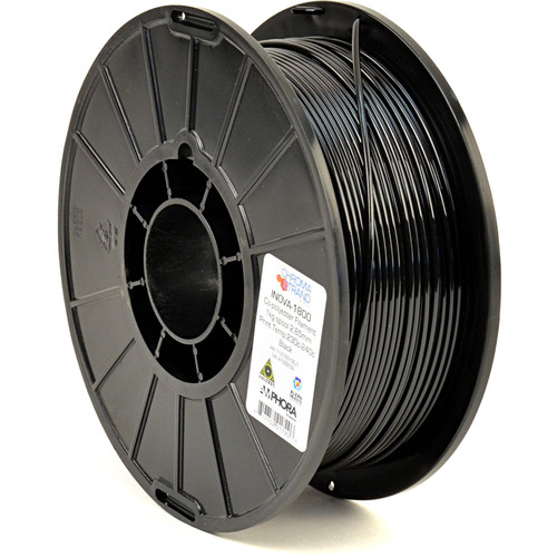 Chroma Strand Labs 3mm INOVA-1800 Filament (1 kg, Black)