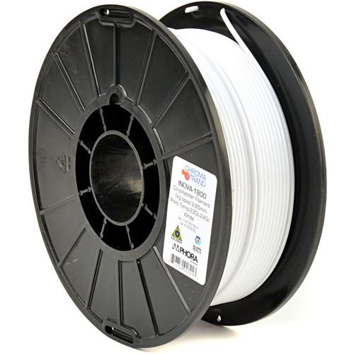 Chroma Strand Labs Inova 1800 Copolyester Filament 2.85mm 1kg Reel (White)