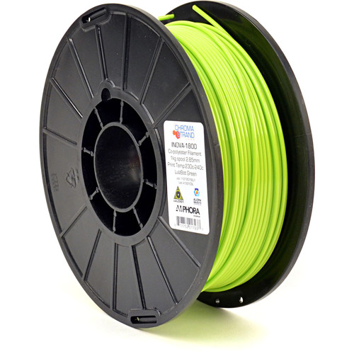 Chroma Strand Labs 3mm INOVA-1800 Filament (1 kg, LulzBot Green)