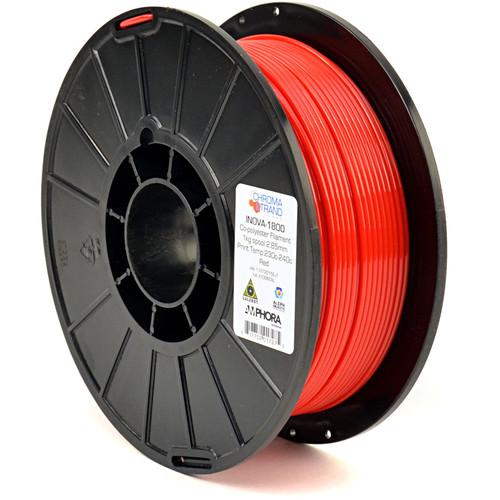 Chroma Strand Labs 3mm INOVA-1800 Filament (1 kg, Red)