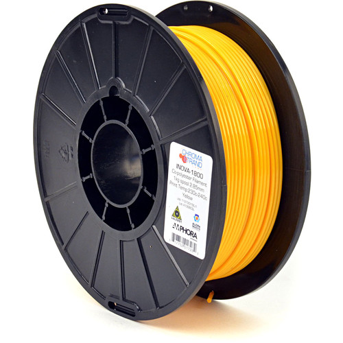 Chroma Strand Labs 3mm INOVA-1800 Filament (1 kg, Yellow)