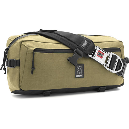 Chrome Industries Kadet Nylon Messenger Bag (Bronze Age/Black)