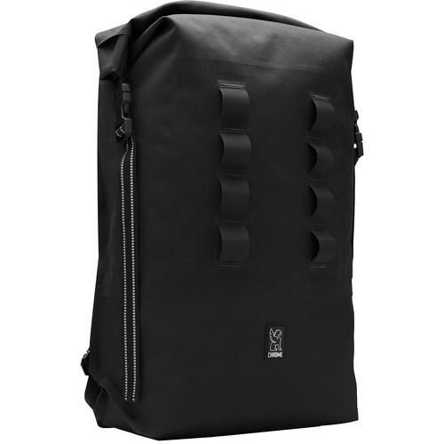 Chrome Industries Urban Ex Rolltop 28L Backpack (Black)