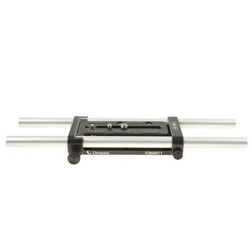 Chrosziel LWS 15 HD Baseplate with 15mm Rods for Canon EOS C100/300/500