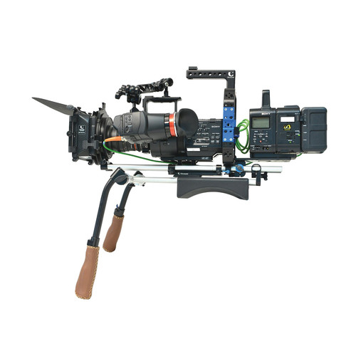 Chrosziel Matte Box MB450 Cage Recorder Kit for Sony NEX-FS700 Camera