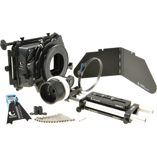 Chrosziel HD Universal Baseplate Kit with Matte Box and Follow Focus