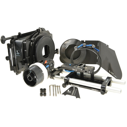 Chrosziel Matte Box 450-R2 Ready-to-Shoot Kit with Follow Focus for Canon 5D/7D