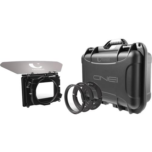 "Chrosziel Cine.1 Dual-Stage Clamp-On Matte Box Kit (4x5.65"" & 4x4"" Filter Trays)"