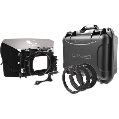 "Chrosziel Swing-Away Matte Box MB 565 Double 19 Kit for Full-Frame Cine Cameras (5.65x5.65""/4x5.650"")"