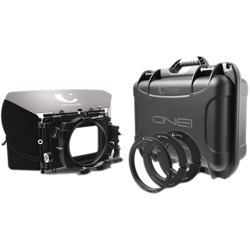 "Chrosziel Swing-Away Matte Box MB 565 Triple 15 Kit for Full-Frame Cine Cameras (4x5.650""/4x4"")"