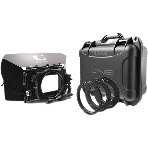 "Chrosziel Swing-Away Matte Box MB 565 Triple 15 Kit for Full-Frame Cine Cameras (5.65x5.65""/4x5.650"")"