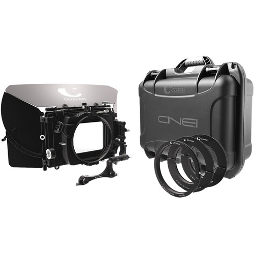 "Chrosziel Swing-Away Matte Box MB 565 Triple 19 Kit for Full-Frame Cine Cameras (5.65x5.65""/4x5.650"")"