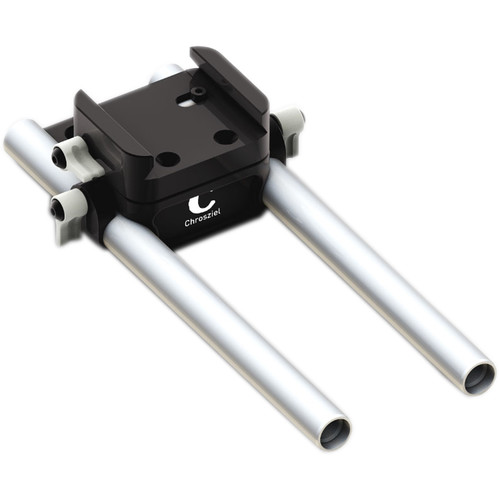 """Chrosziel 15mm LWS Baseplate with 8"""" Rods"""