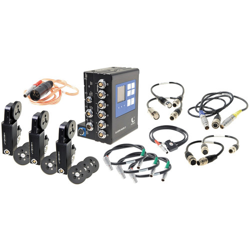 Chrosziel Aladin MKII 3-Axis Broadcast Lens Control Kit with Hedén Motors