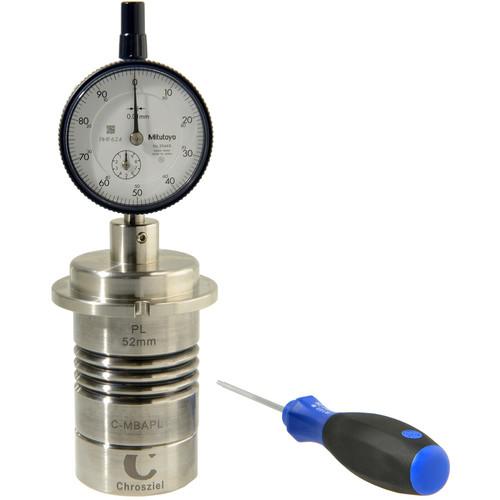 Chrosziel PL-Mount Measuring Block for Collimator or Lens Projector