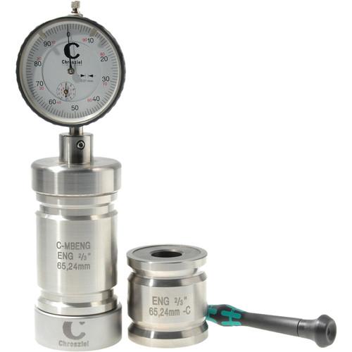 "Chrosziel Measure Block ENG SD 2/3""65.24mm:Groundplate,Measure Cylinder 65.24mm,Calibration Cylinder SD 47.72m"