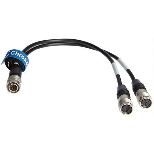 "Chrosziel MagNum Canon Analog Focus/Zoom Demand Input ""Y"" Cable"
