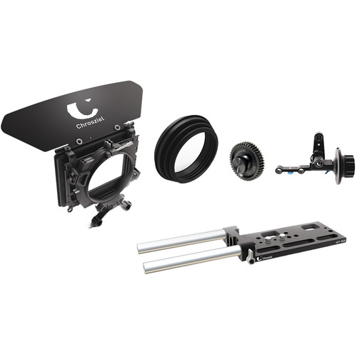 Chrosziel Cine.1 Matte Box Kit with LWS Baseplate and Follow Focus for RED
