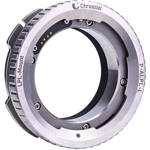 Chrosziel ARRI LPL Lens Mount Adapter with Built-In Electronics for P-TP7 Lens Test Projector