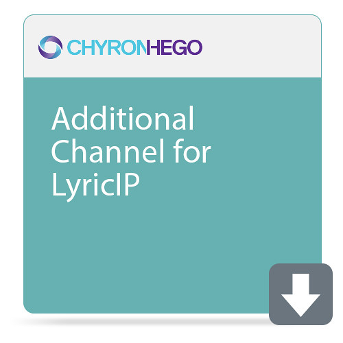 ChyronHego Additional Channel for LyricIP