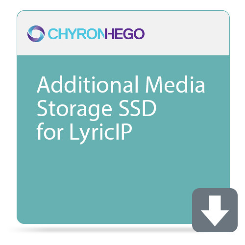 ChyronHego Additional Media Storage SSD for LyricIP (400GB)