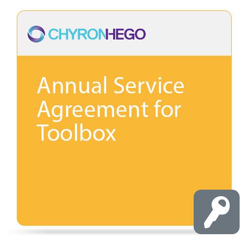 ChyronHego Annual Service Agreement for Toolbox (Advanced)