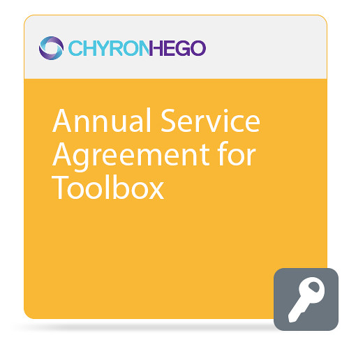 ChyronHego Annual Service Agreement for Toolbox (Advanced)