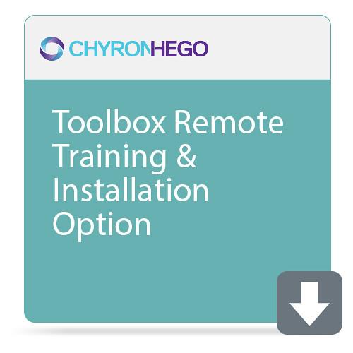 ChyronHego Toolbox Remote Training & Installation Option