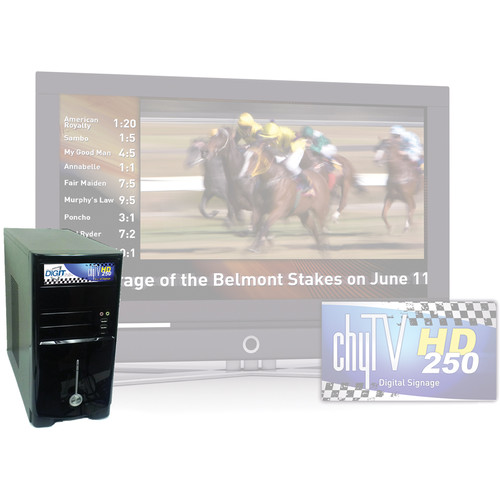 ChyTV HD 250 Video Graphics Display System (Desktop Chassis)