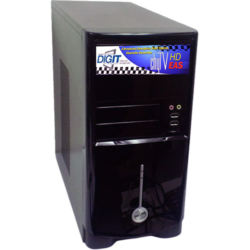 ChyTV Emergency Alert Broadcast System Tower Chassis Unit
