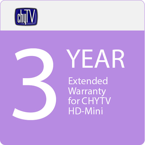 ChyTV 3-Year Extended Warranty for CHYTV HD-Mini