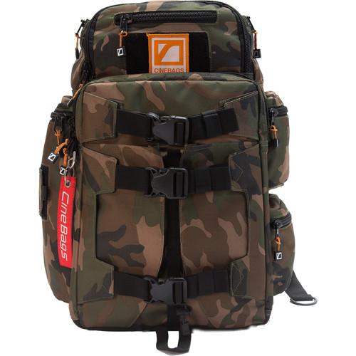 CineBags CB25B Revolution Backpack (Vintage Camo)