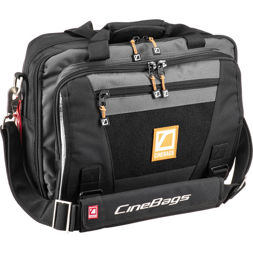 CineBags CB-27 Lens Smuggler Bag (Black/Charcoal)