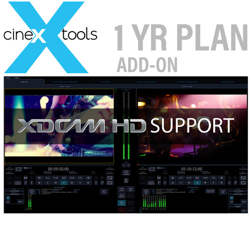 Cinedeck XDCAM 1-Year Subscription