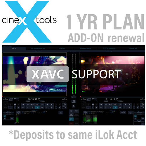 Cinedeck AVC/AS11 Annual Subscription Renewal