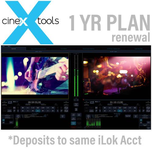 Cinedeck cineXtools Annual Subscription Renewal - cineXtools insert editor