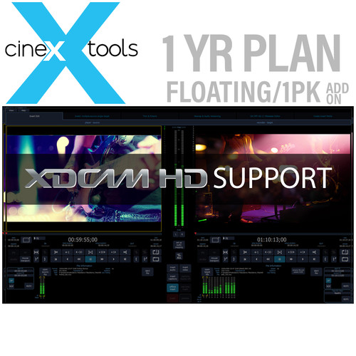 Cinedeck XDCAM 1-Year Floating Subscription - XDCAM Codec Option